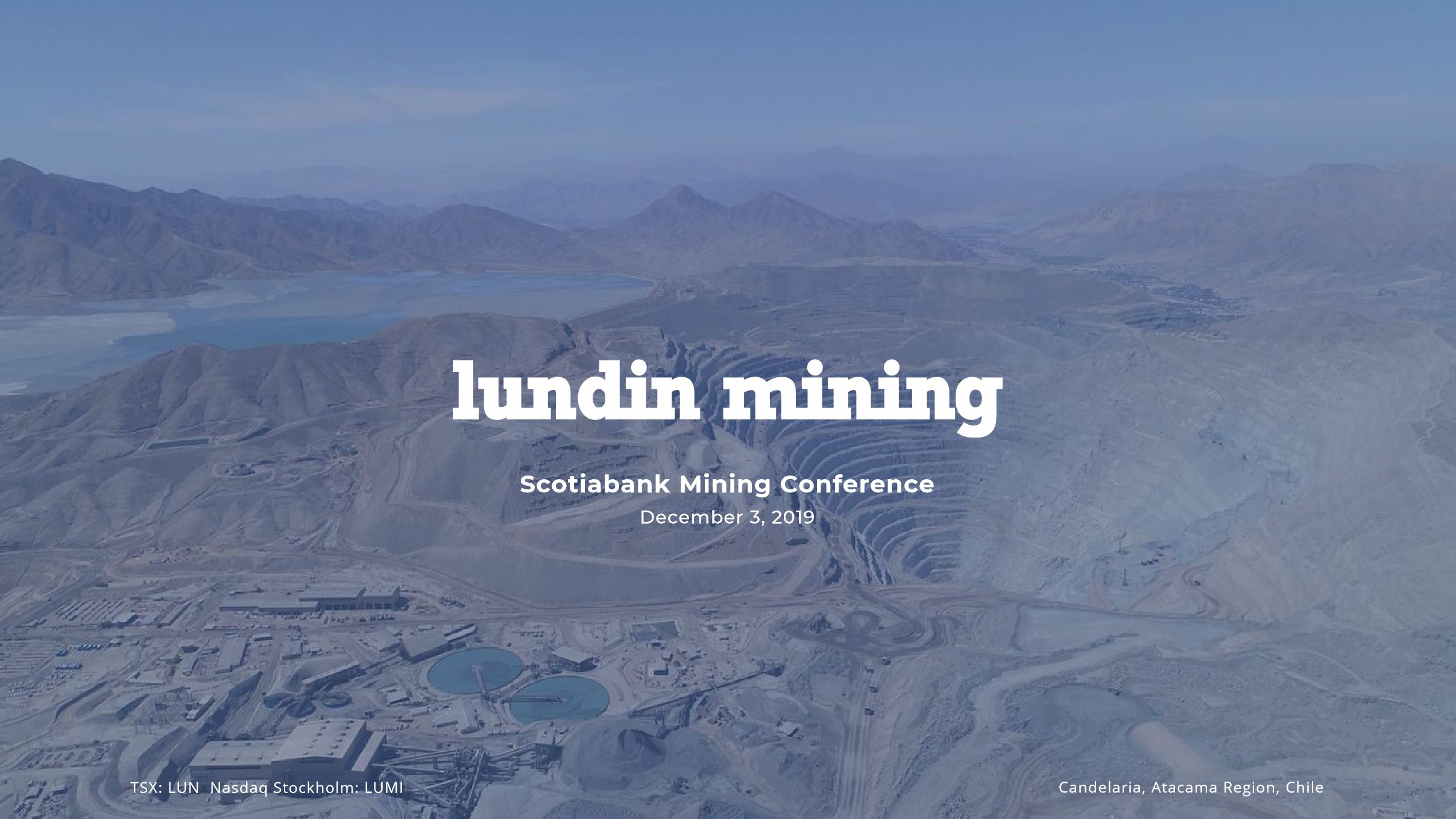 Scotiabank Mining Conference